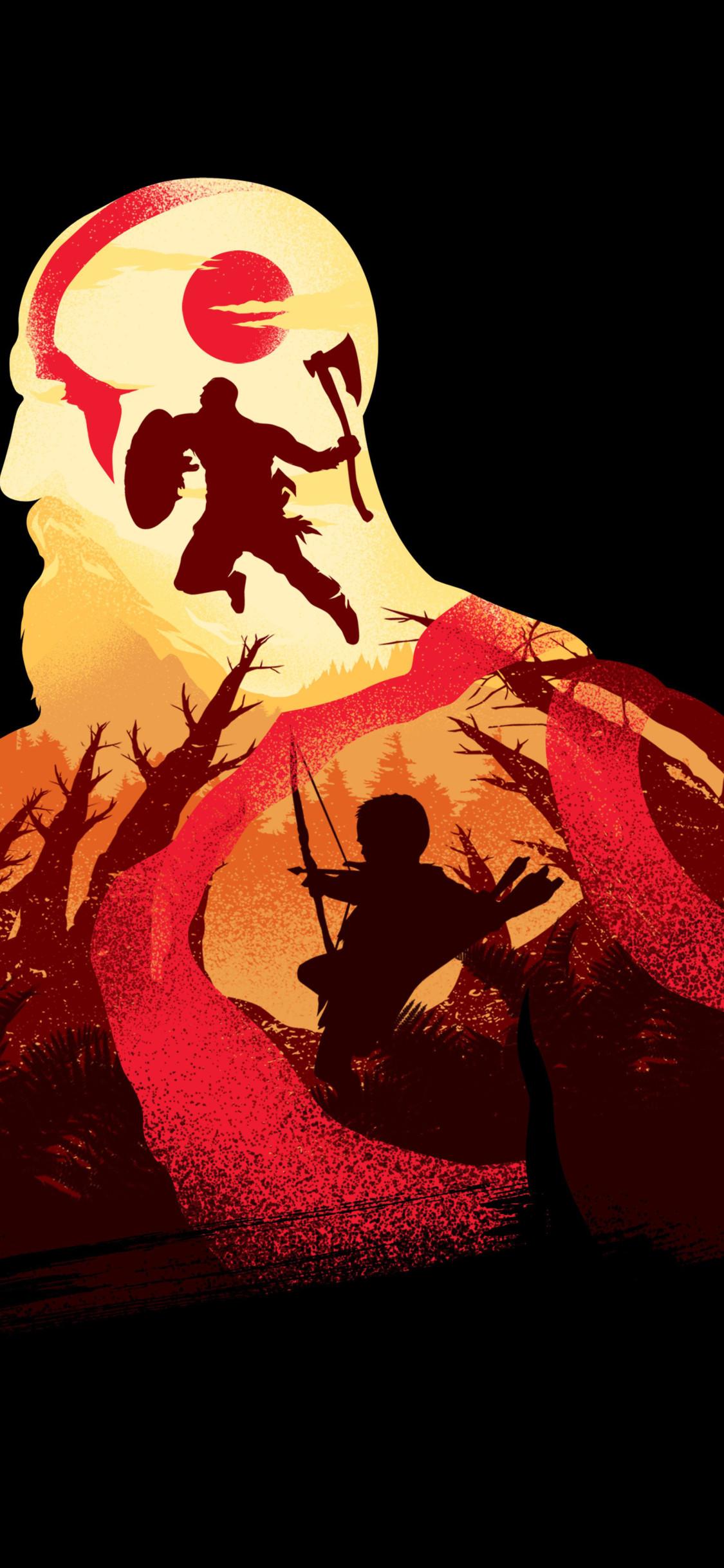 God of War Wallpaper em 2020 Arte conceitual guerreiro
