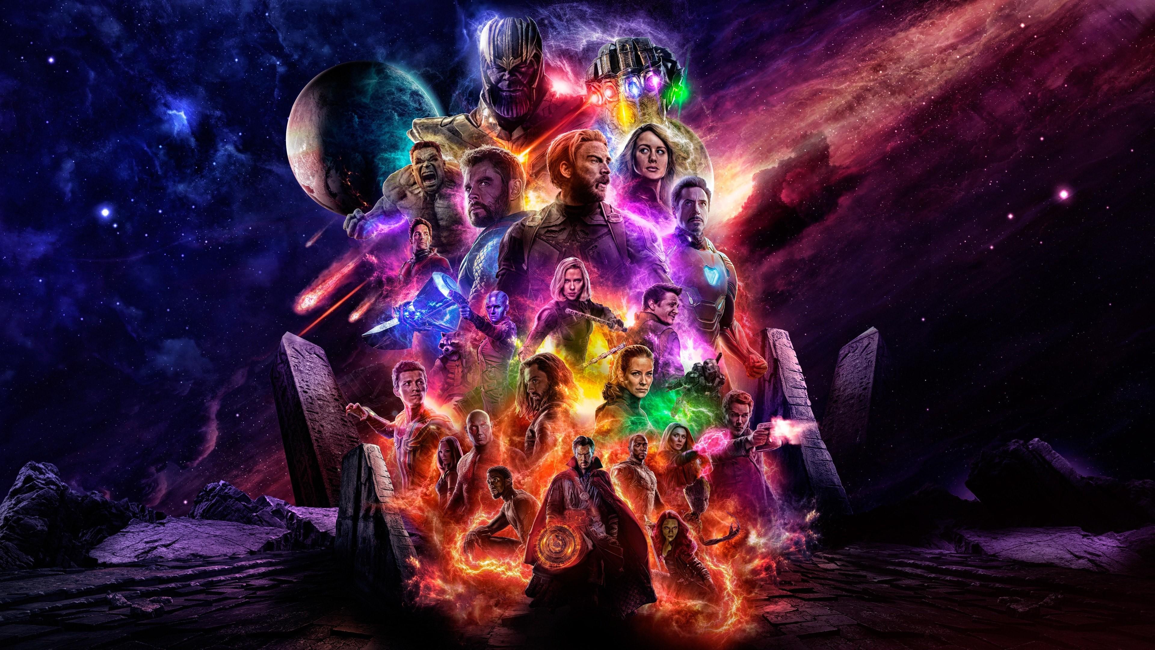 4k Avengers Endgame Desktop Hd Wallpapers 40030   Data-src - Avengers 4 Poster 4k - HD Wallpaper