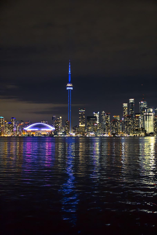 Toronto, Canada, Centre Island, City, Skyline, Lights, - Iphone 11 Pro Max Wallpaper Hd Toronto - HD Wallpaper