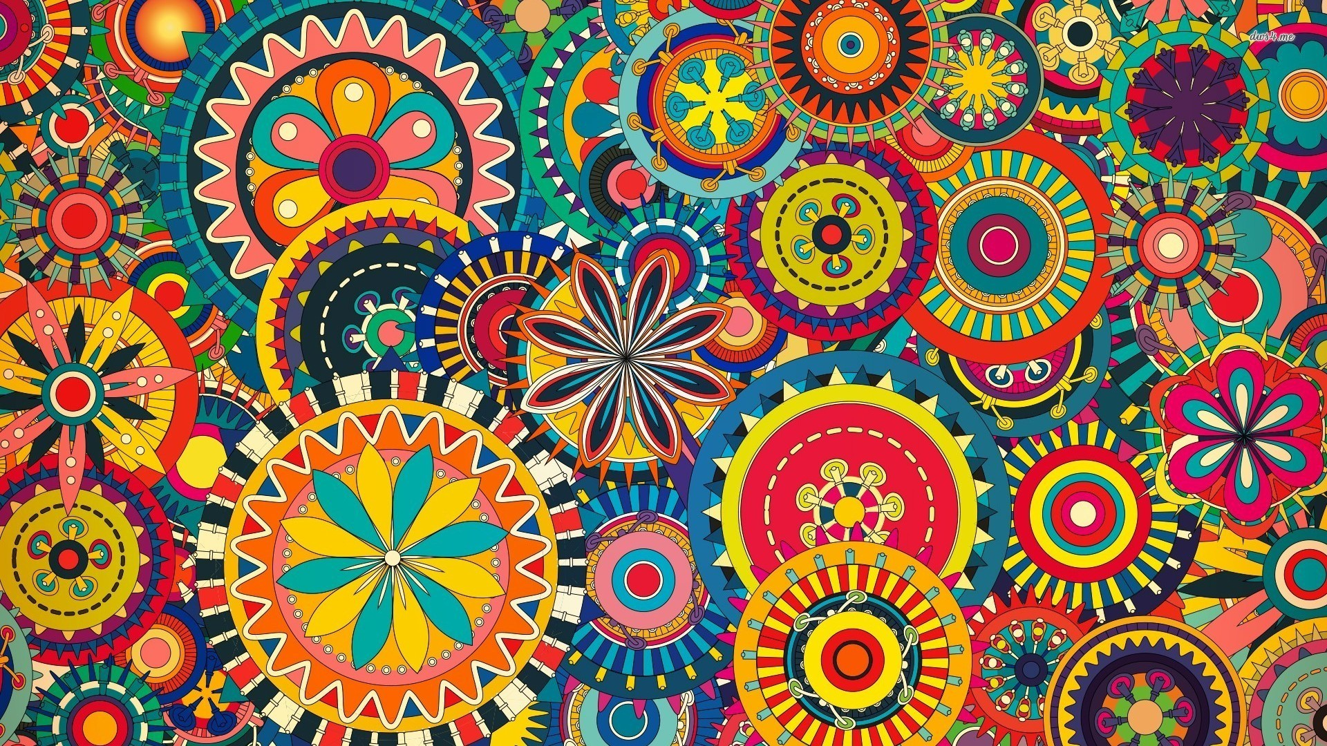 1920x1080, Aztec Wallpaper Pattern Stock Vector Abstract - Pattern Colorful Background Hd - HD Wallpaper