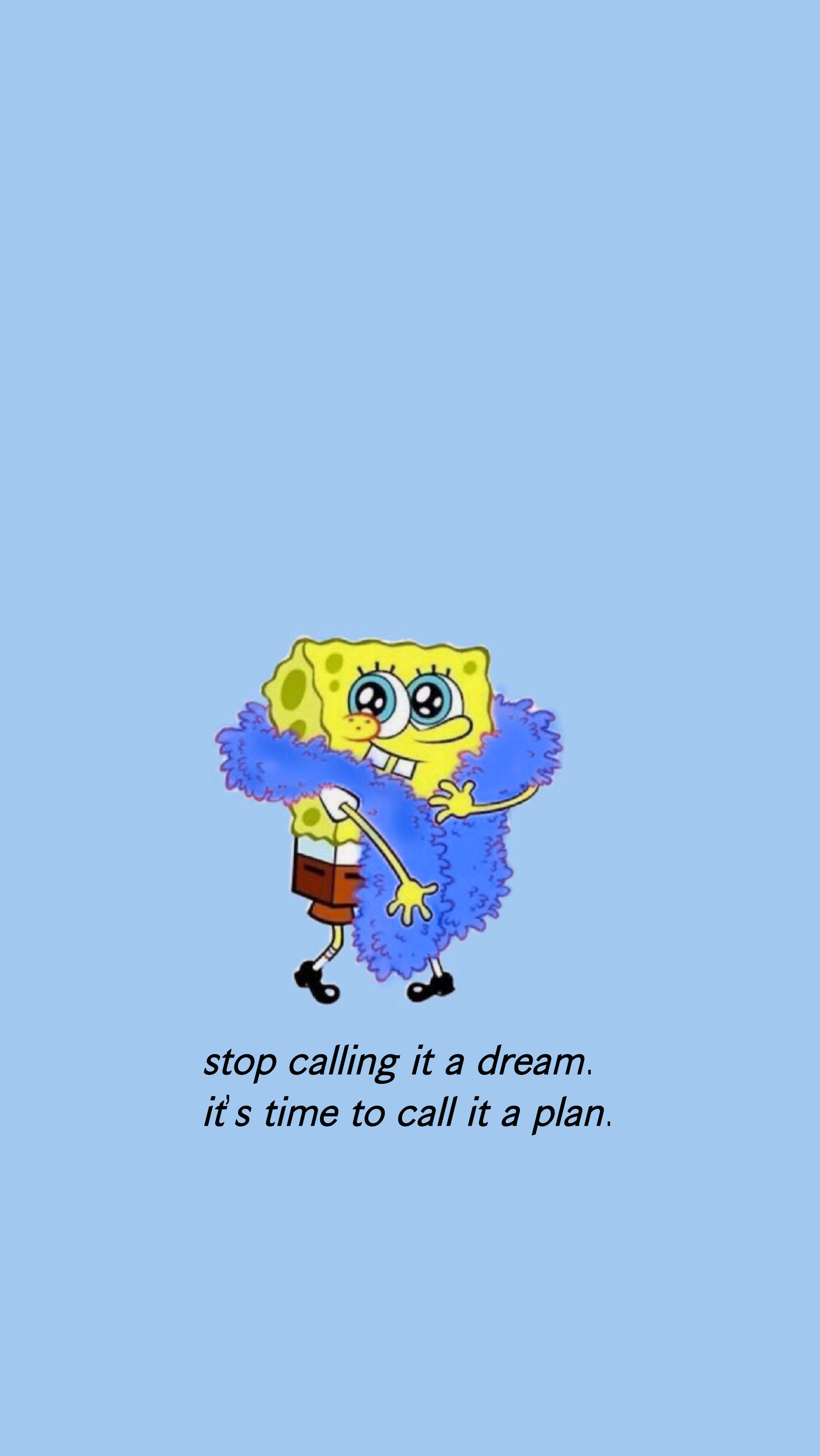 Cute Iphone Spongebob 3072x5457 Wallpaper Teahub Io