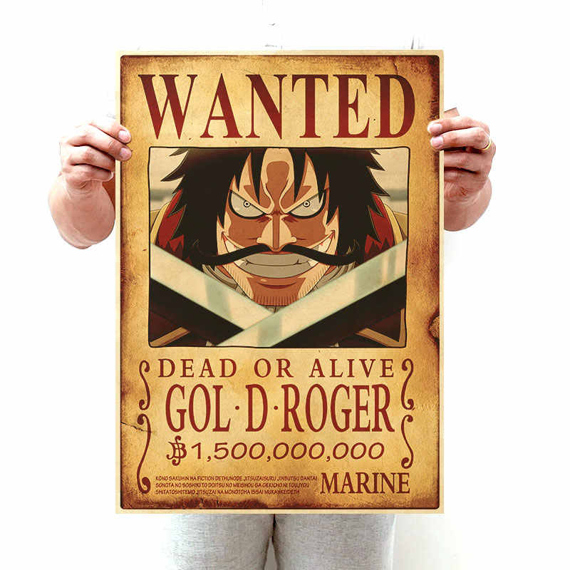 Anime One Piece Straw Hat Pirate Bounties Art Poster One Piece Wanted 800x800 Wallpaper Teahub Io