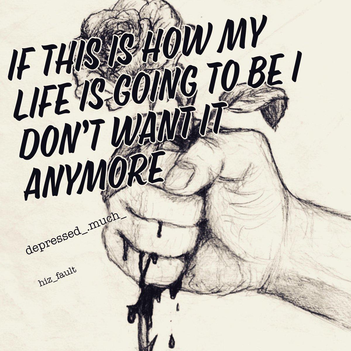 Depression Sad Quotes - HD Wallpaper