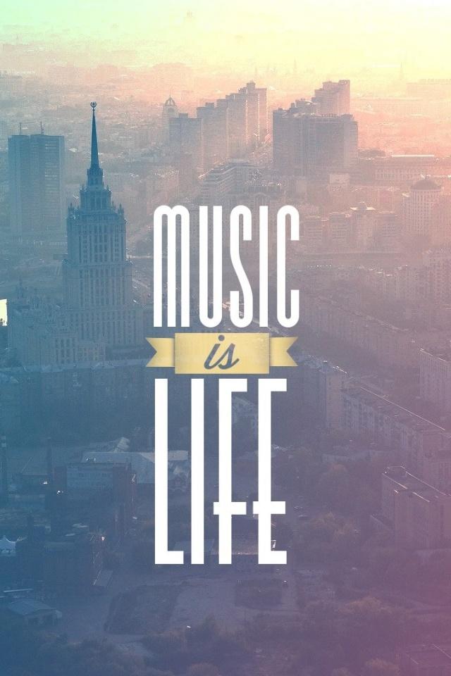 Music Is Life - HD Wallpaper