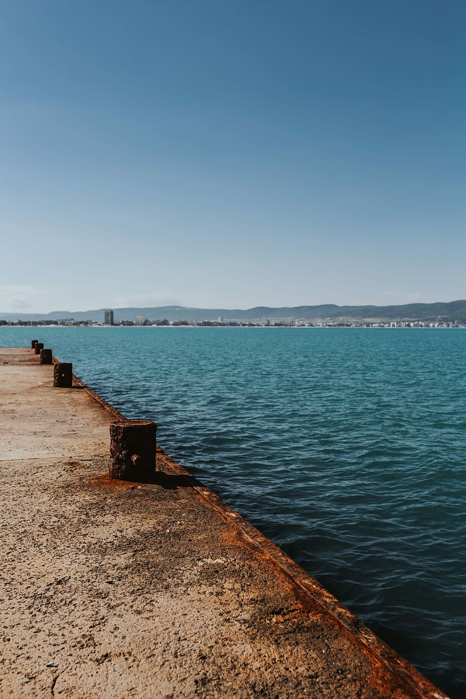 Coast Of The Black Sea, Sunny Beach, Bulgaria, Ocean, - Sea - HD Wallpaper