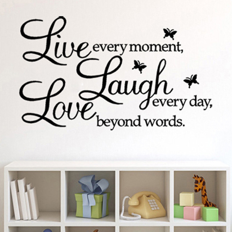 Attractive Live Laugh Love Wall Art Removable Vinyl Wall Decal 800x800 Wallpaper Teahub Io