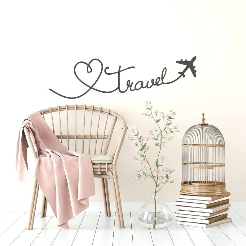 Travel Wall Decals Sayings Decal Quote Love Quotes - Stars Stickers For Walls - HD Wallpaper