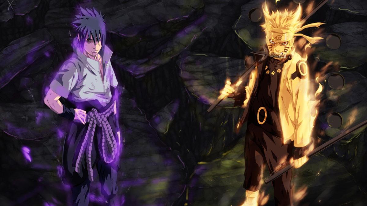 Sasuke Uchiha Sharingan And Rinnegan Eyes And Naruto - HD Wallpaper