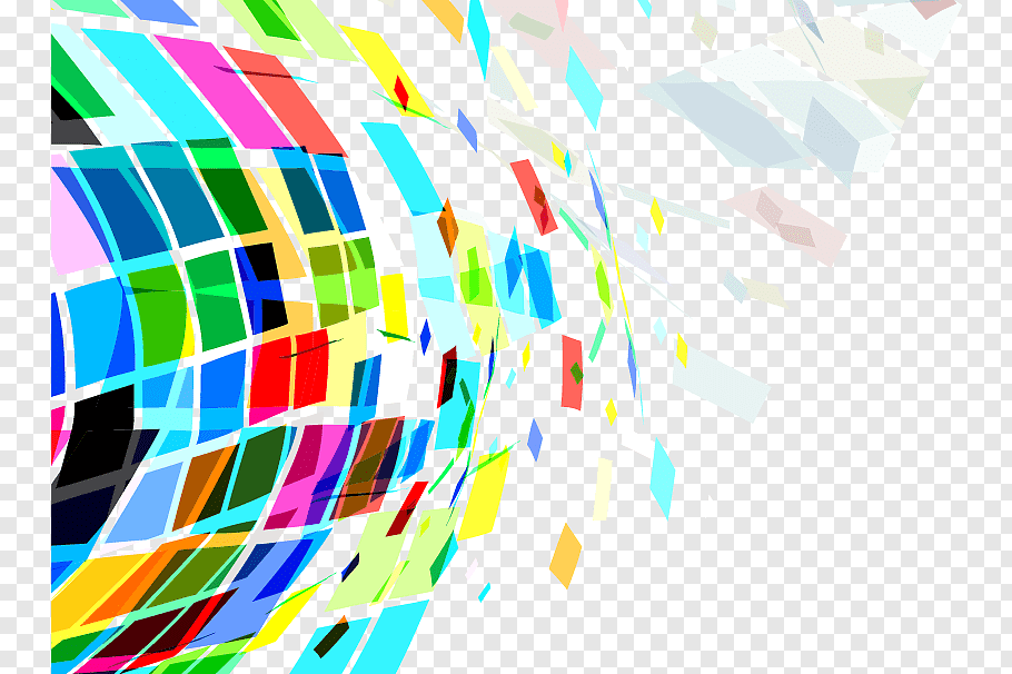 3d, Geometry Color Abstraction Abstract Art, Abstract - HD Wallpaper