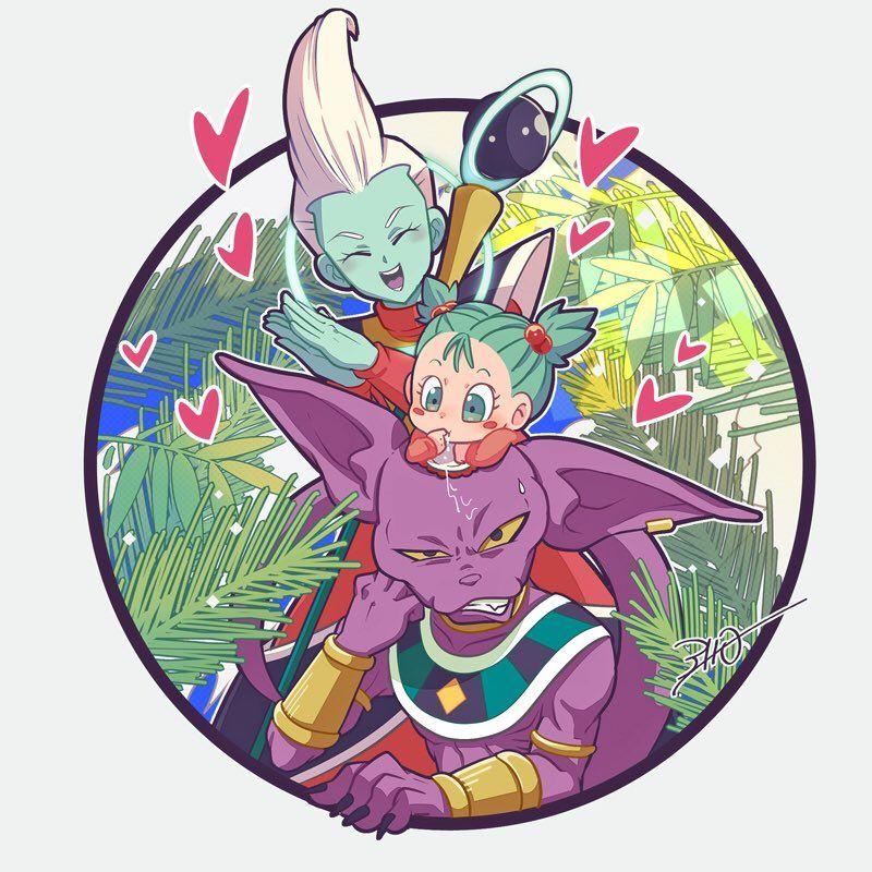 Dragon Ball Super Beerus And Bulla 800x800 Wallpaper Teahub Io