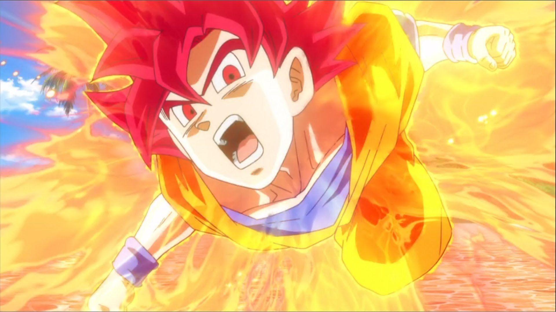 Son Goku Super Saiyan God Wallpaper   Data Src Free - Goku God Wallpaper Hd - HD Wallpaper