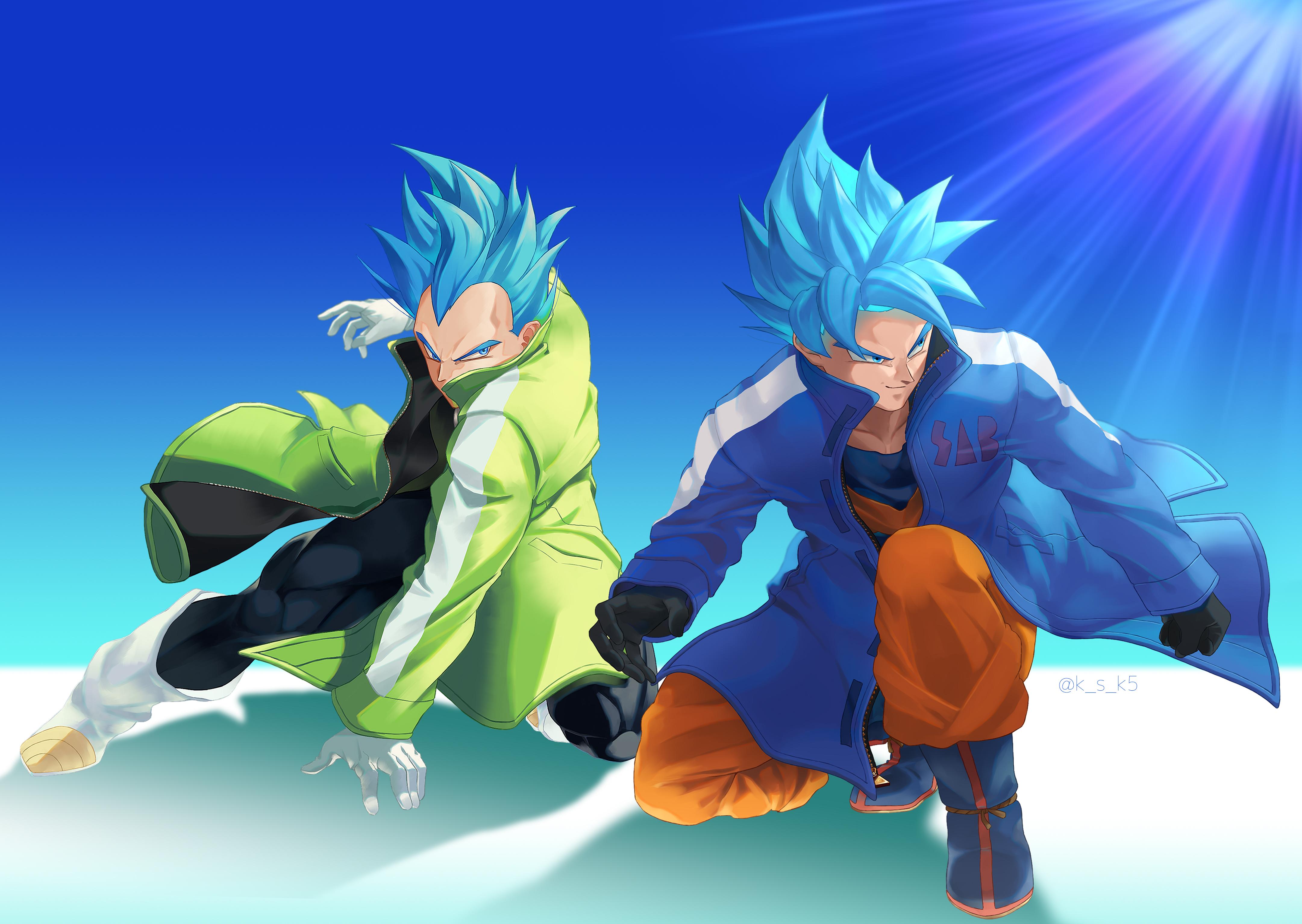 Goku And Vegeta Super Broly 4322x3069 Wallpaper Teahub Io
