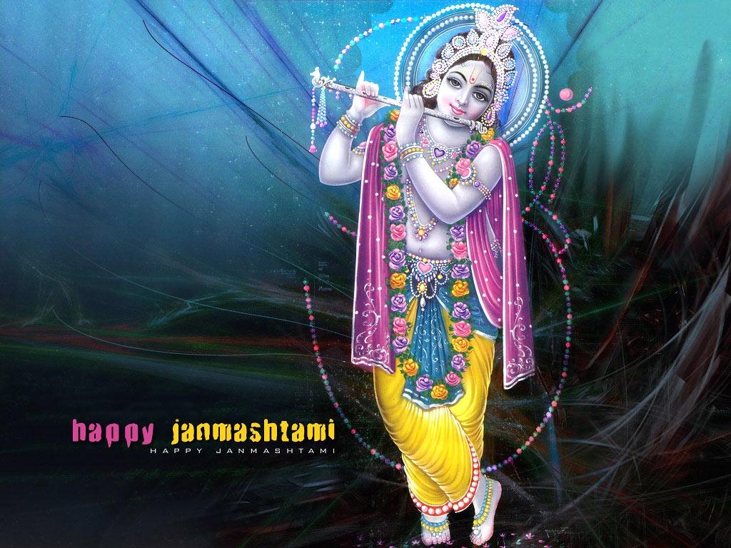 Letest Hd Happy Krishna Janmashtami Wallpaper - Photographs Of Lord Krishna - HD Wallpaper