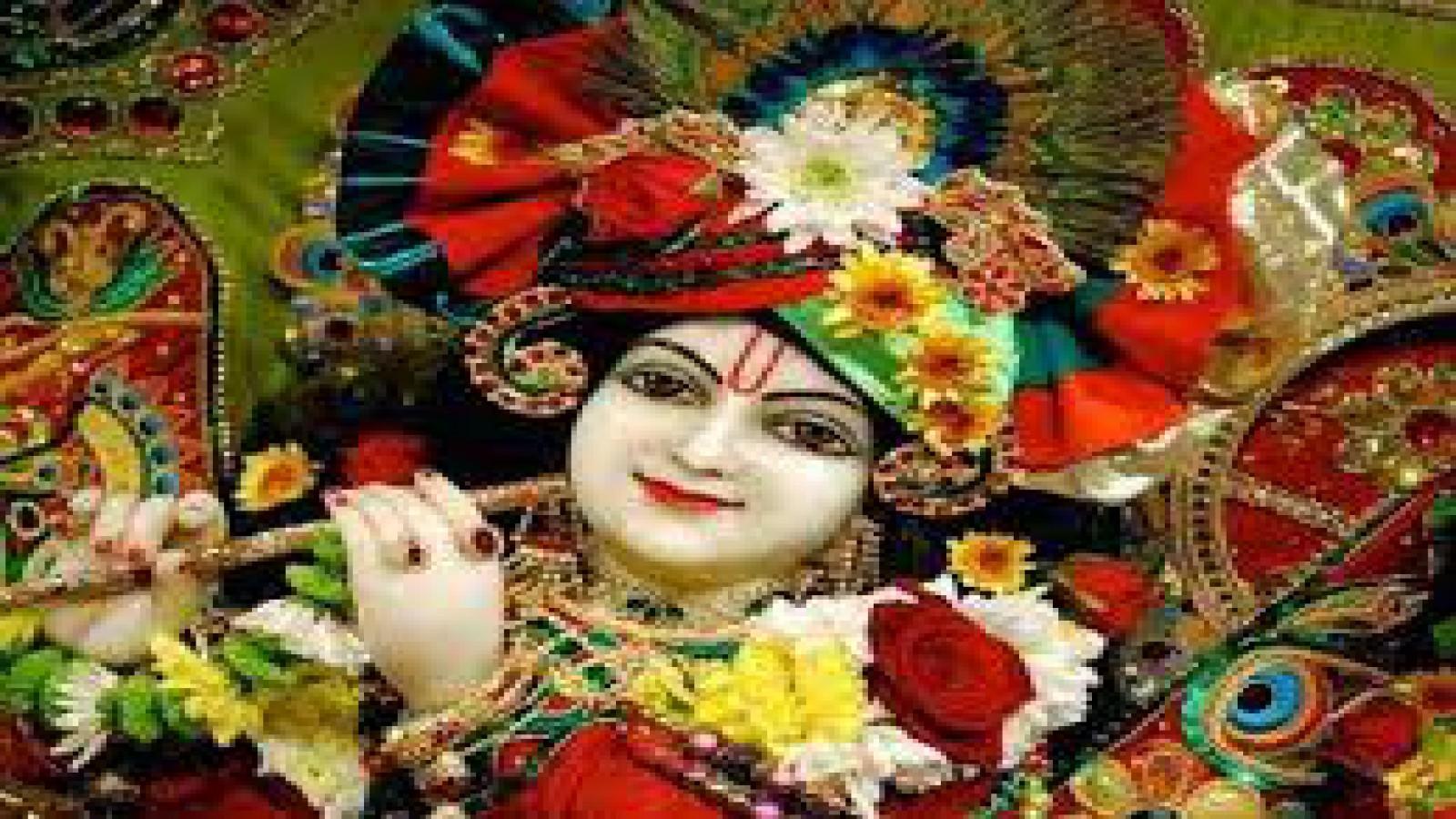 Full Hd Pics Of Lord Krishna - HD Wallpaper