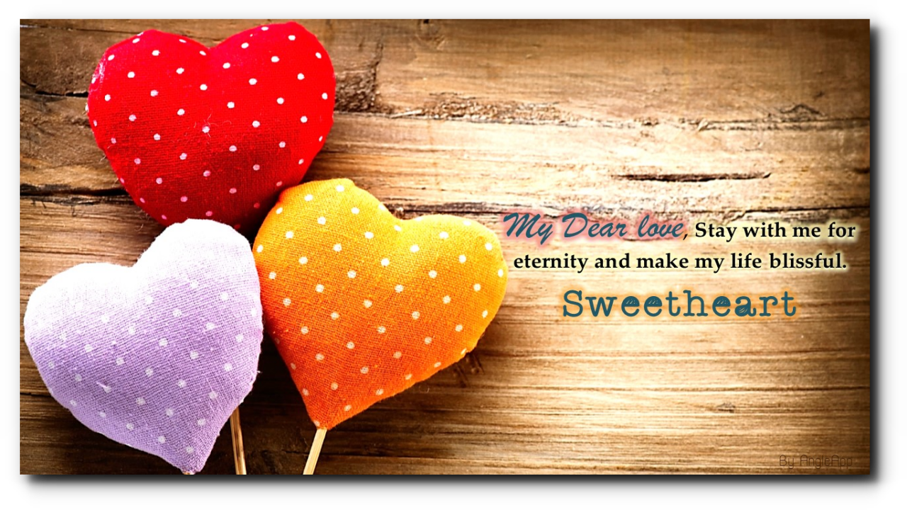 Romantic Beautiful Romantic Good Night - HD Wallpaper
