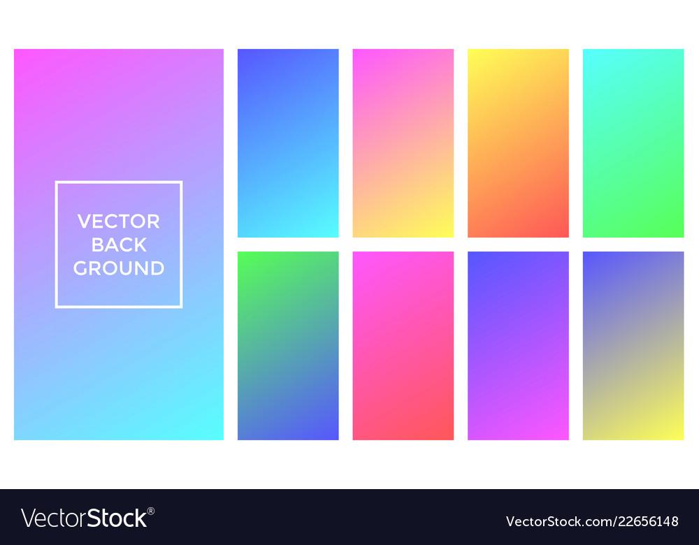 Gradient Palette Soft Color - HD Wallpaper