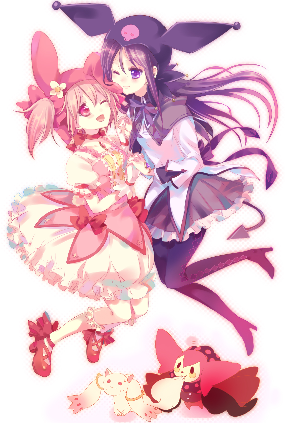 My Melody And Kuromi Anime 1134x1681 Wallpaper Teahub Io
