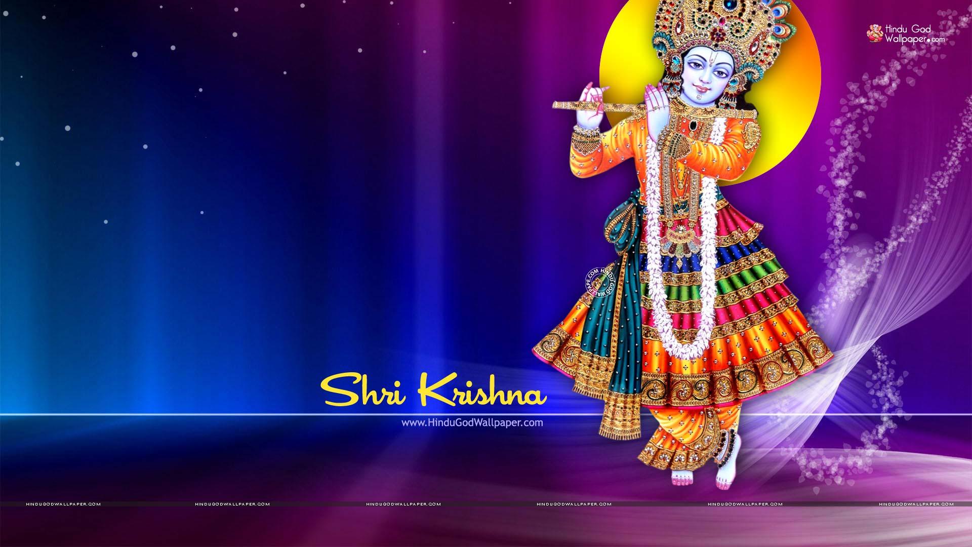 Krishna Wallpaper Hd Full Size - 1080p Krishna Image Full Hd - HD Wallpaper