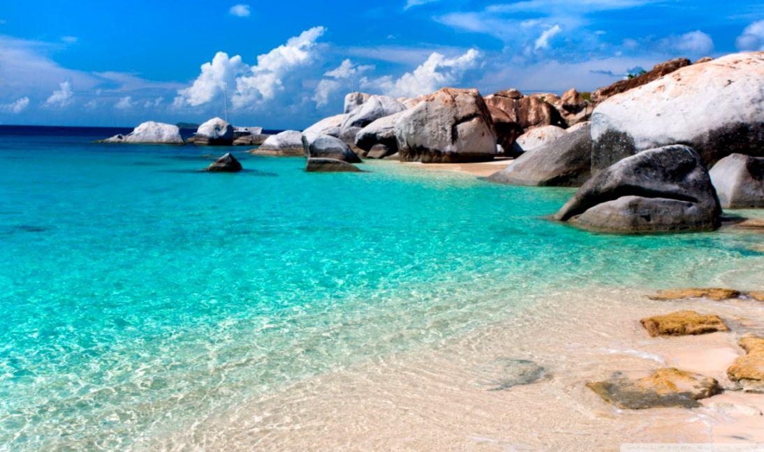 Summer Beach Scene ❤ 4k Hd Desktop Wallpaper For 4k - Summer Beach - HD Wallpaper
