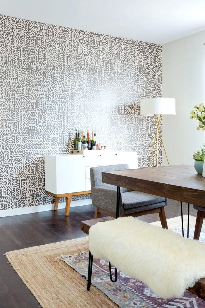 Dining Room Wallpaper Accent Wall, Accent Wallpaper Dining Room Ideas