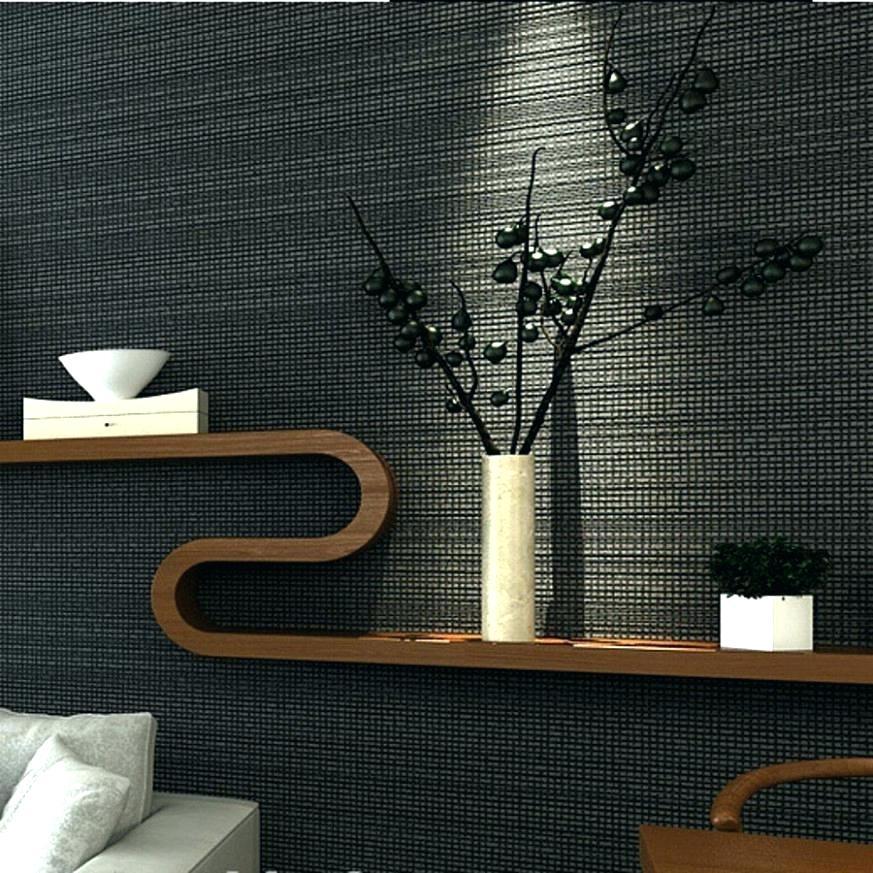 Modern Bedroom Wallpaper Ideas Awesome Grey Contemporary - Interior Design - HD Wallpaper