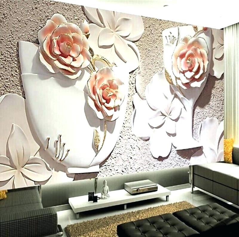 3d Wallpaper Designs For Living Room Decorative Wall - Wall Painting Designs 3d - HD Wallpaper