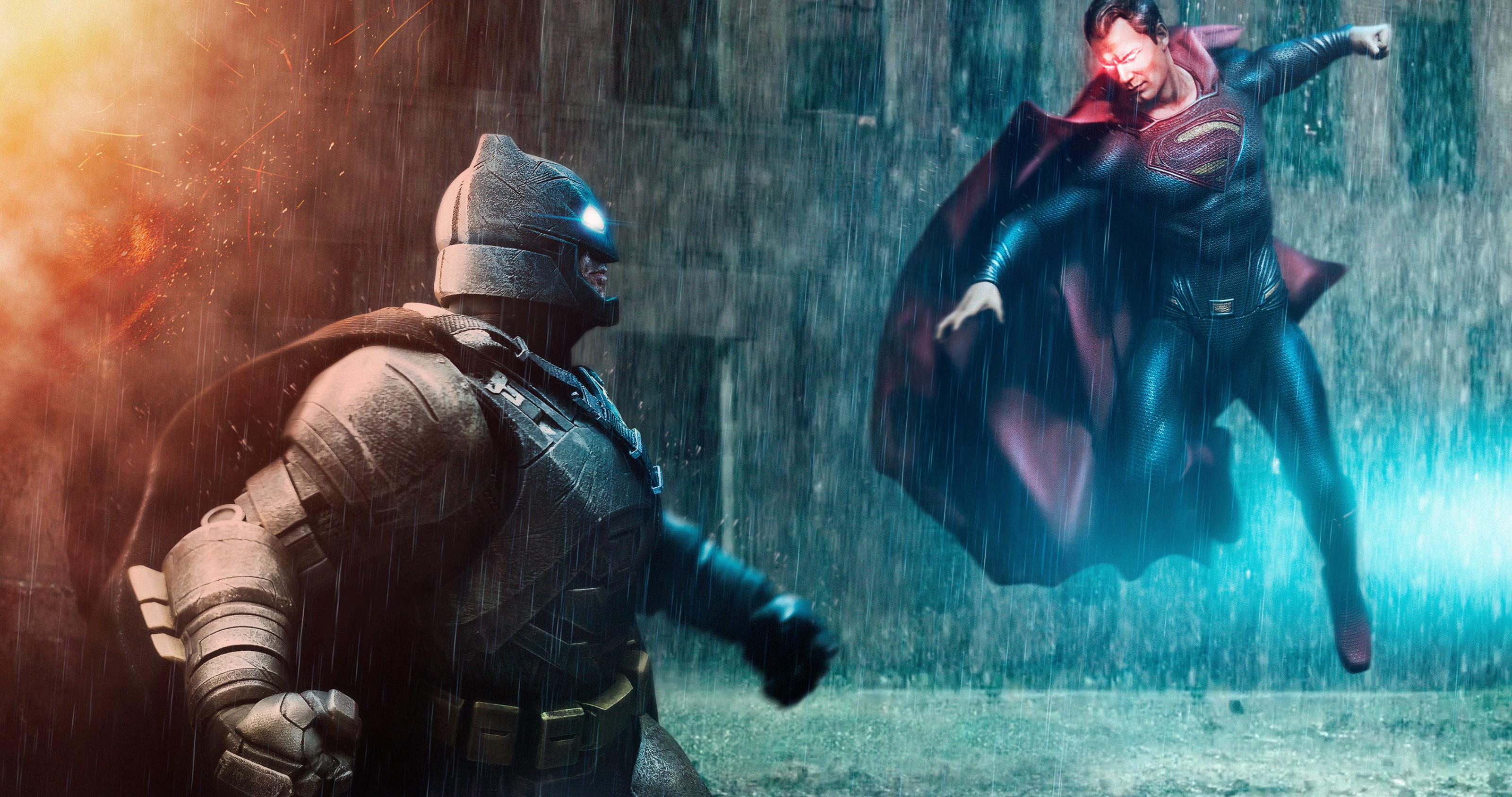 Batman V Superman Wallpapers - Batman Vs Superman Wallpaper 4k - HD Wallpaper