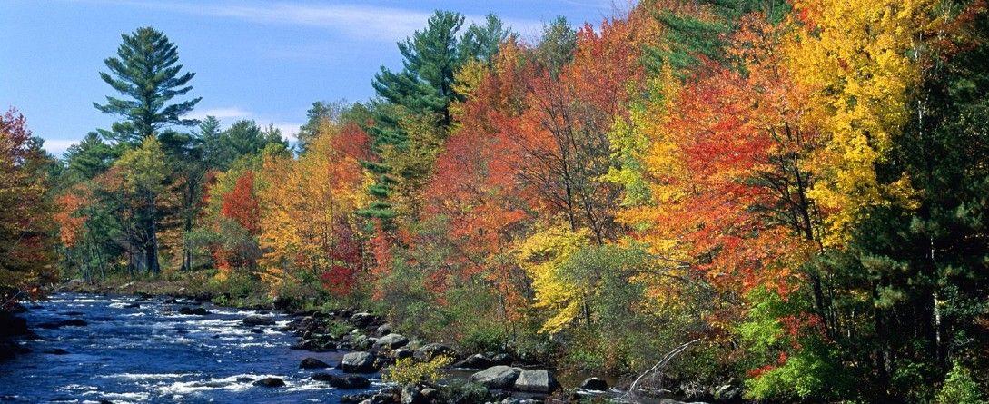 New England Fall Desktop - HD Wallpaper