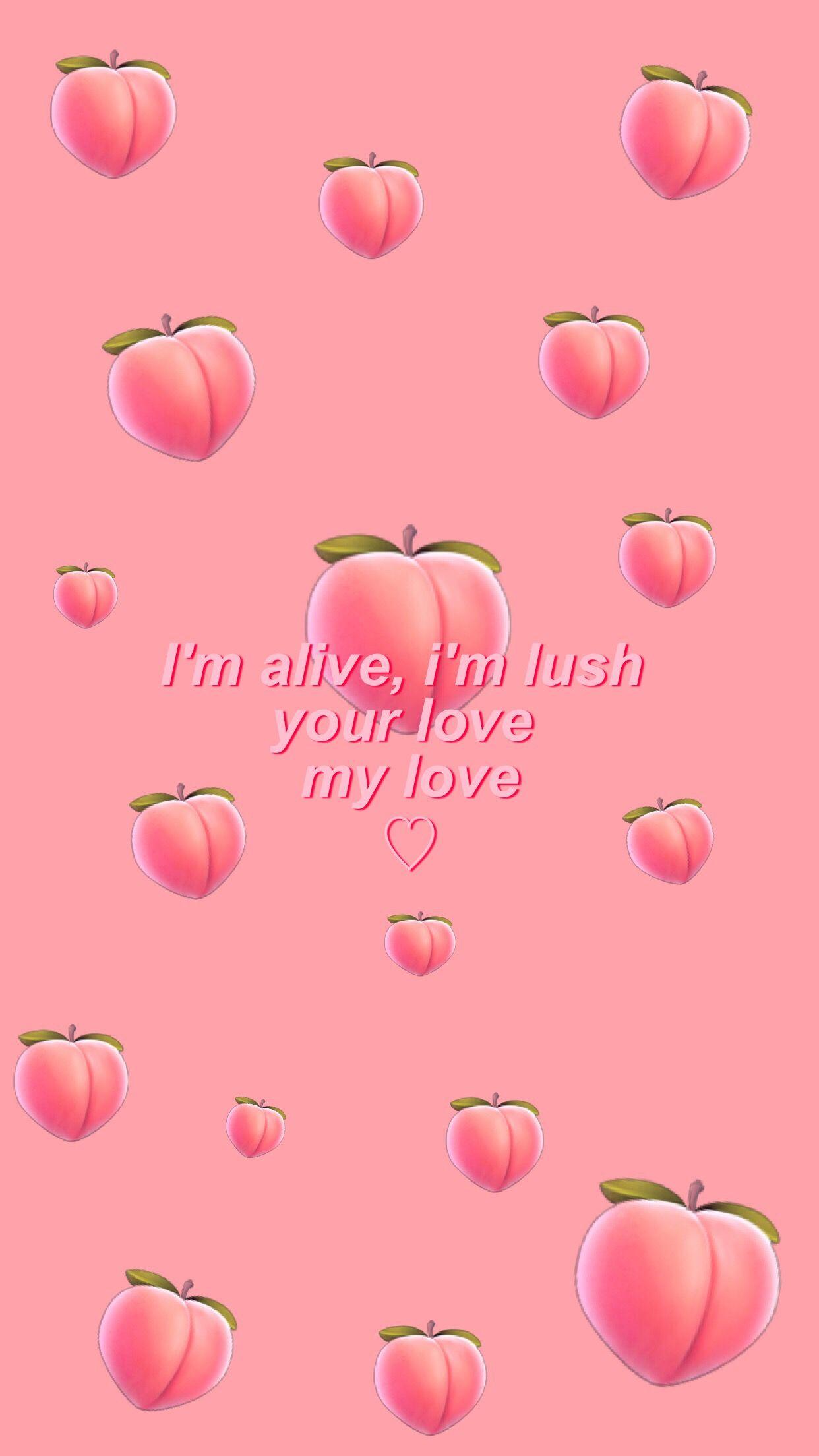 Kawaii Aesthetic Peach Background - HD Wallpaper