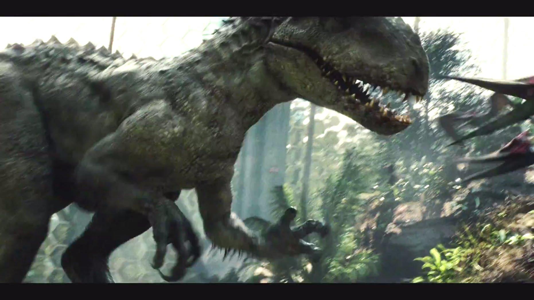 Jurassic World T Rex Wallpaper - Jurassic World - HD Wallpaper