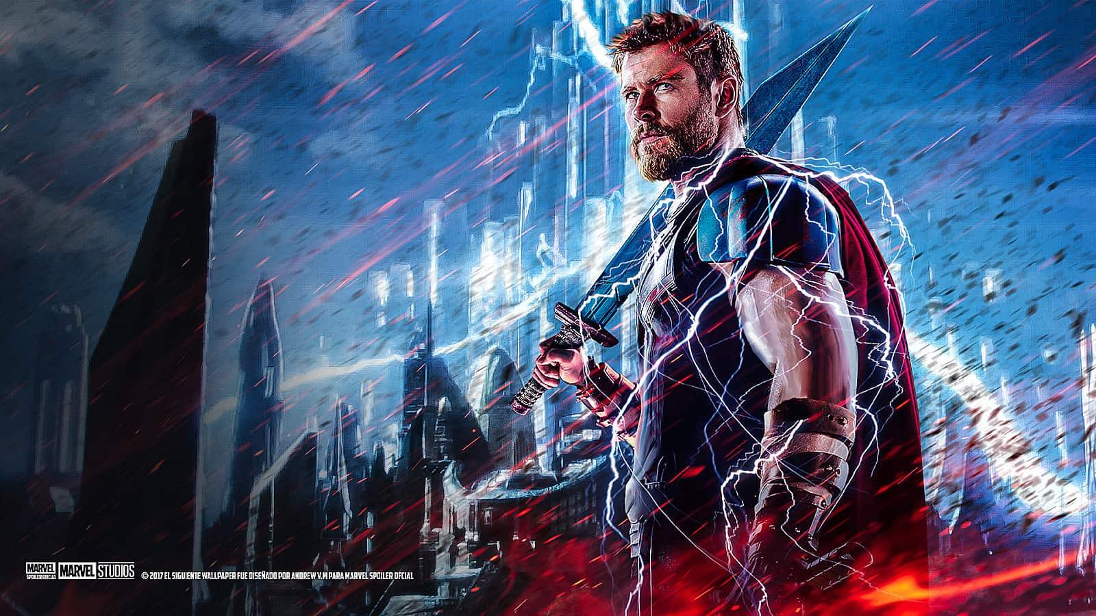 Thor Ragnarok Wallpaper 4k - HD Wallpaper