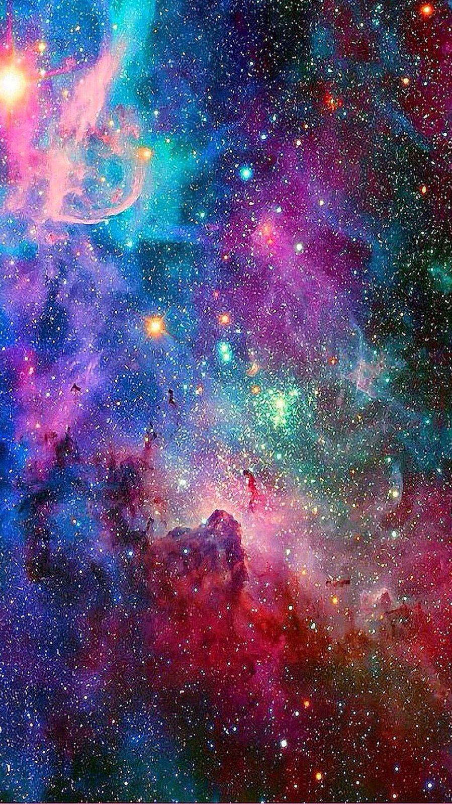 Galaxy Colorfull Univers Light Star Sky Wallpaper Colorful Galaxy Wallpaper Hd 899x1599 Wallpaper Teahub Io