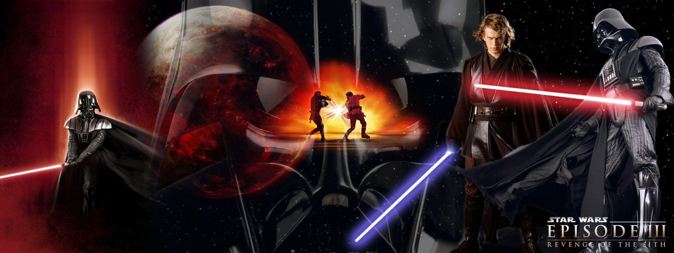 Lloyd Lemary Star Wars Dual Screen Two Screen Wallpaper Star Wars 2304x864 Wallpaper Teahub Io