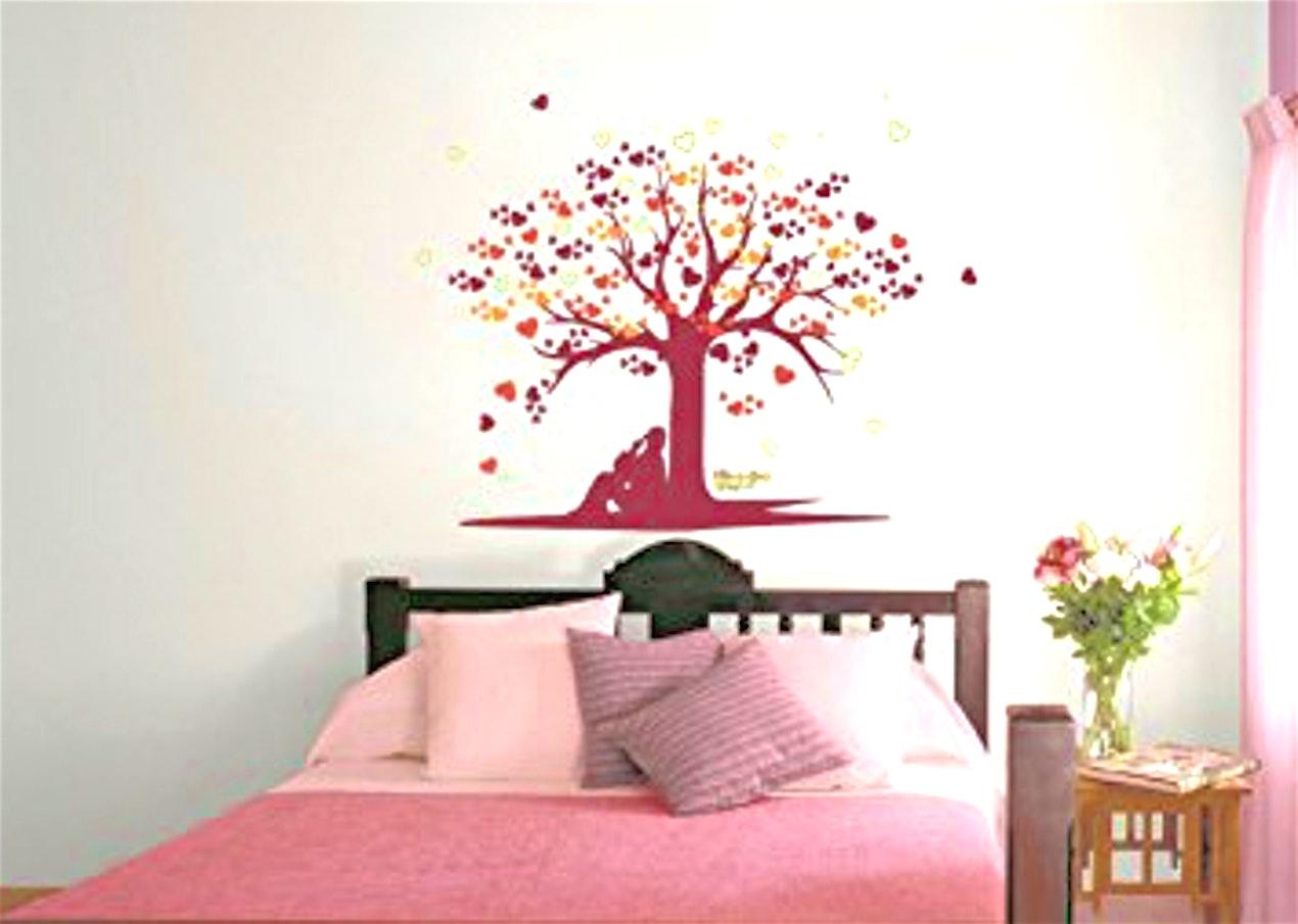 Bedroom Asian Paints Wall Designs - HD Wallpaper