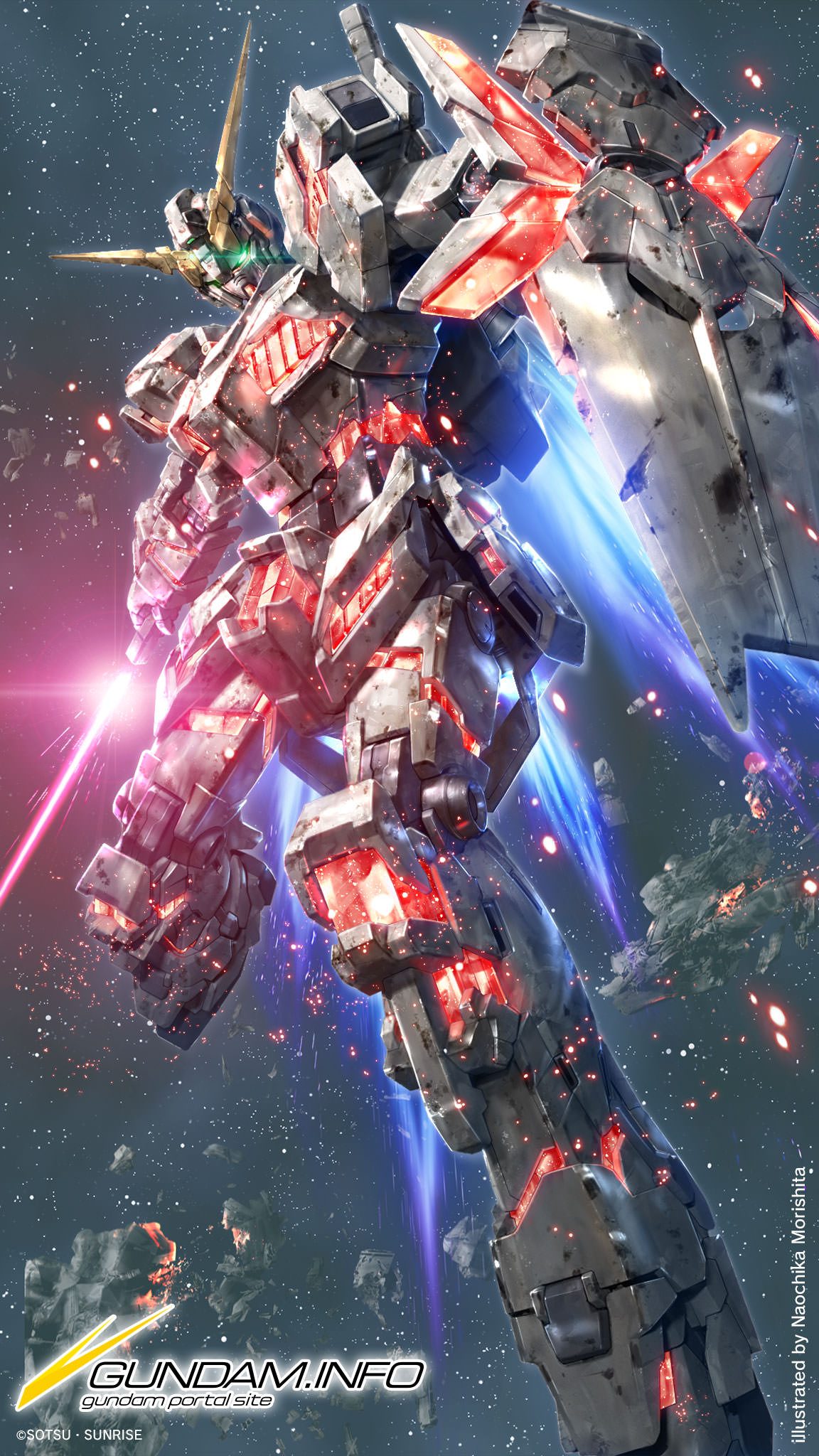 Gundam Unicorn Wallpaper Iphone 1152x48 Wallpaper Teahub Io