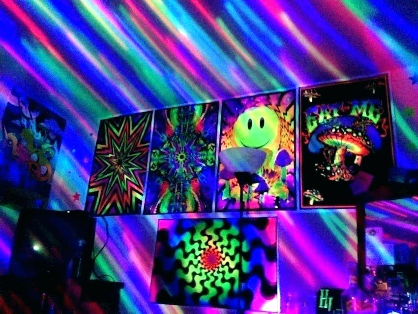 Glow In The Dark And Black Light Party Ideas Hubpages Trippy Ceiling Tile Painting 850x638 Wallpaper Teahub Io