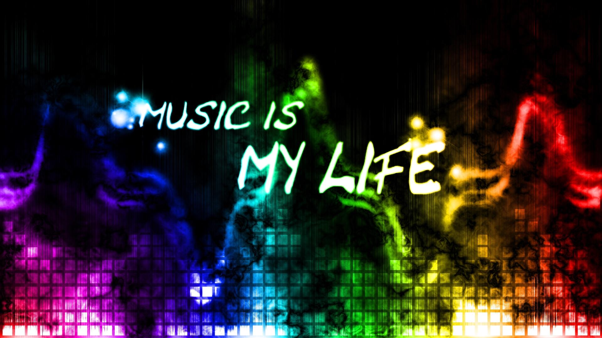 Music Is Life Hd - HD Wallpaper