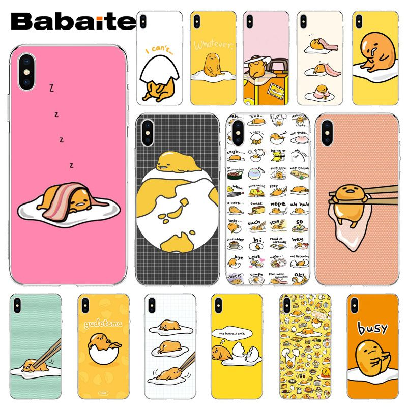 Babaite Cute Lovely Gudetama Lazy Egg Diy Printing - Cartoon - HD Wallpaper
