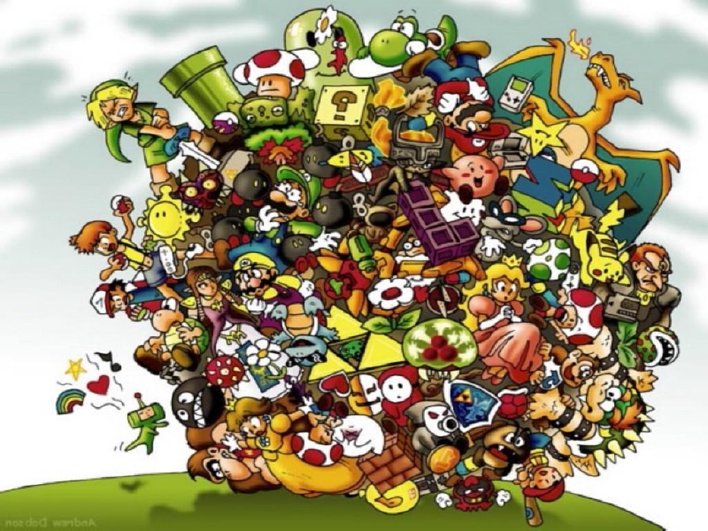 Video Games Wallpaper Nintendo 1024x768 Wallpaper Teahub Io