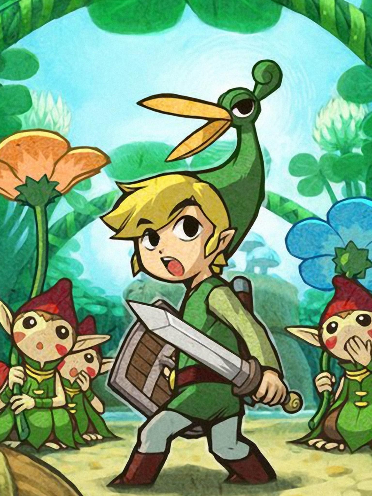 Legend Of Zelda Minish Cap Picori - HD Wallpaper