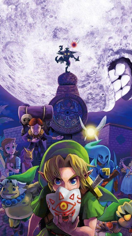 Zelda-andro#wallpaper - Legend Of Zelda Iphone Wallpaper Hd - HD Wallpaper