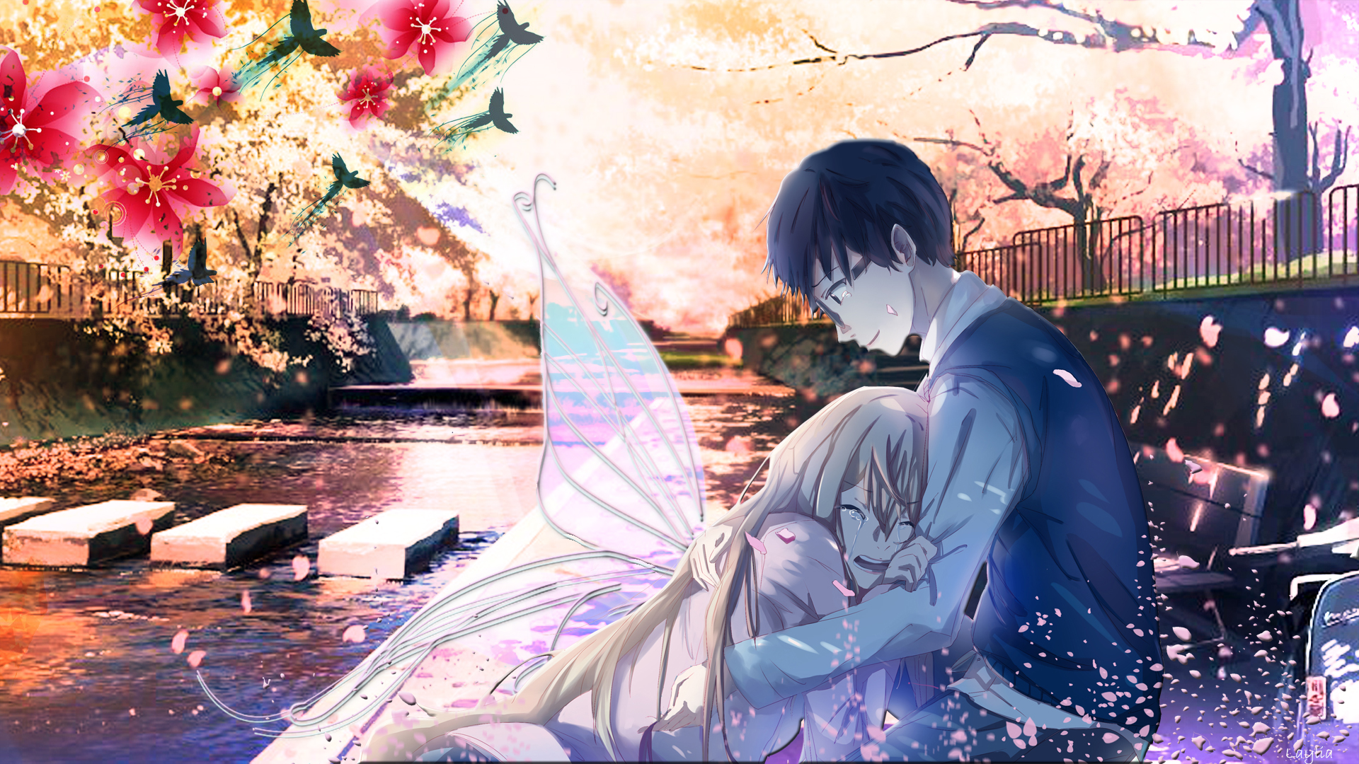 Your Lie In April Download Wallpaper Anime Your Lie In April Background 1920x1080 Wallpaper Teahub Io