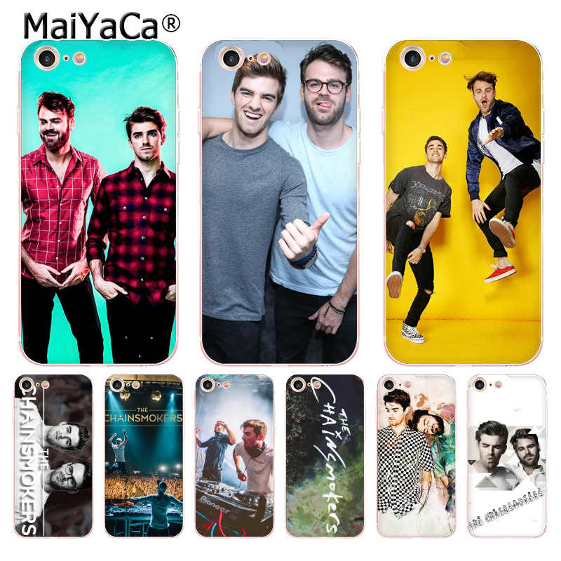 Maiyaca The Chainsmokers 2018 Colored Drawing Soft - Mobile Phone Case - HD Wallpaper