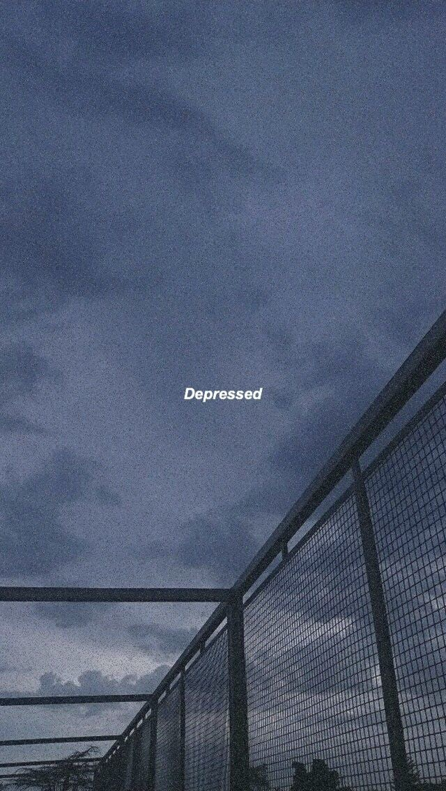 Wallpaper, Aesthetic, And Depressed Image - Depression Aesthetic Backgrounds - HD Wallpaper