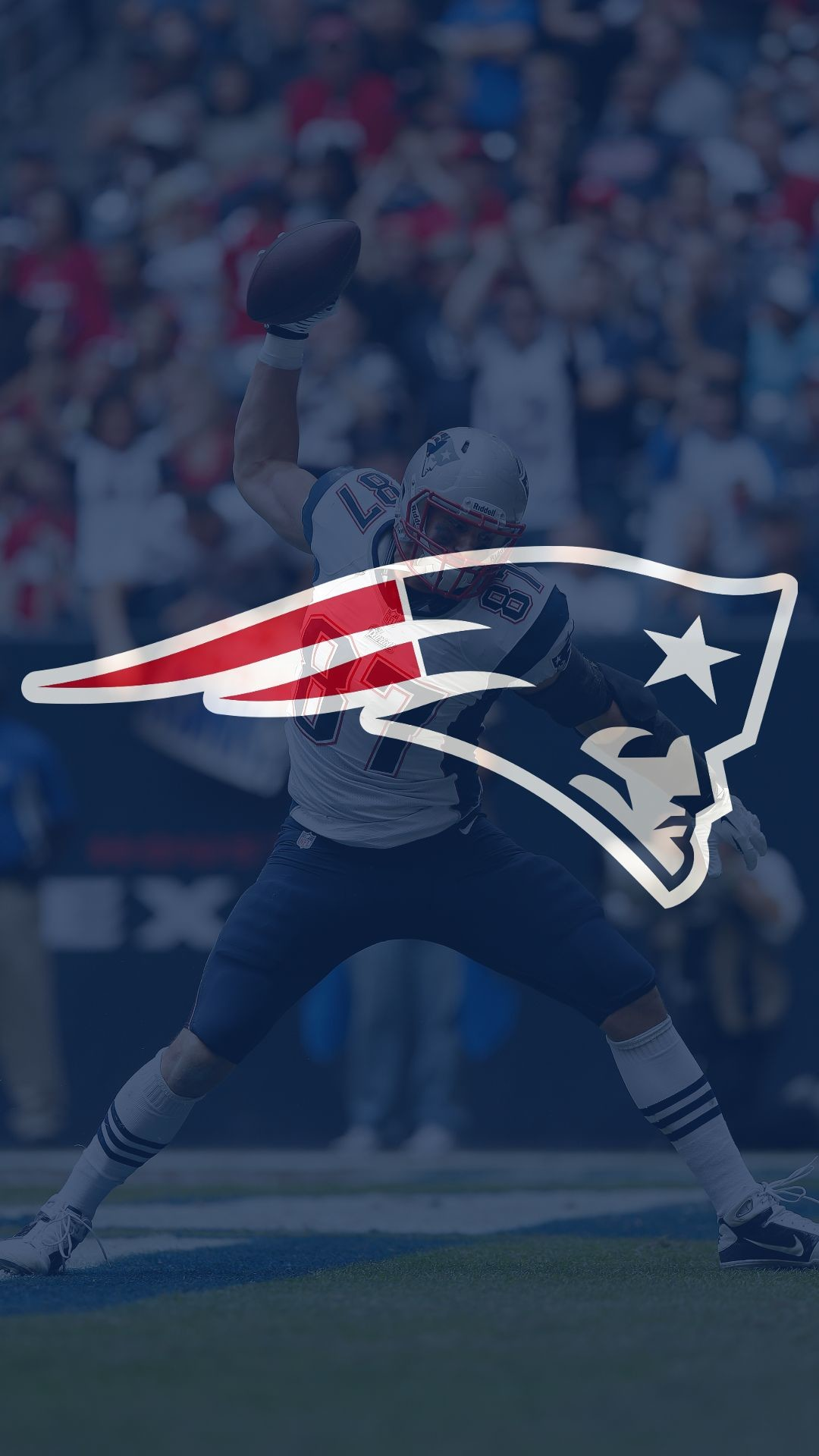 Patriots Super Bowl Wallpaper Li Iphone Wallpaper Logo - Gameday New England Patriots - HD Wallpaper