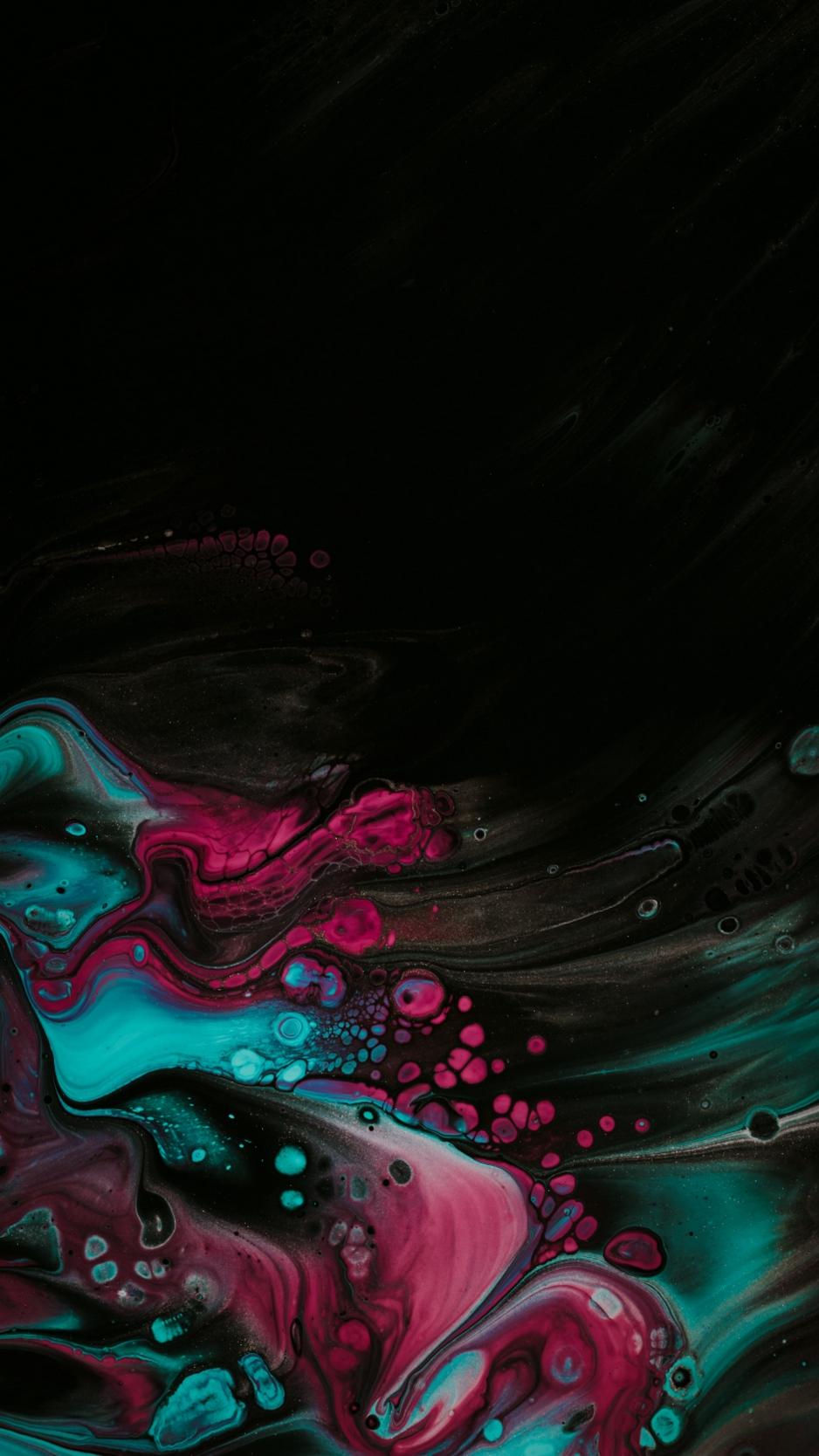 Wallpaper Paint, Spots, Stains, Mix, Liquid, Colorful - Abstract Fluid Wallpaper 4k - HD Wallpaper