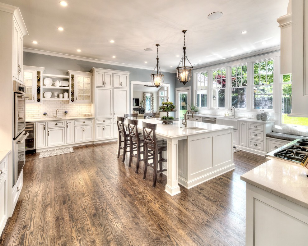 French Country Window Entry Farmhouse With Tall Ceilings Kitchen 990x792 Wallpaper Teahub Io