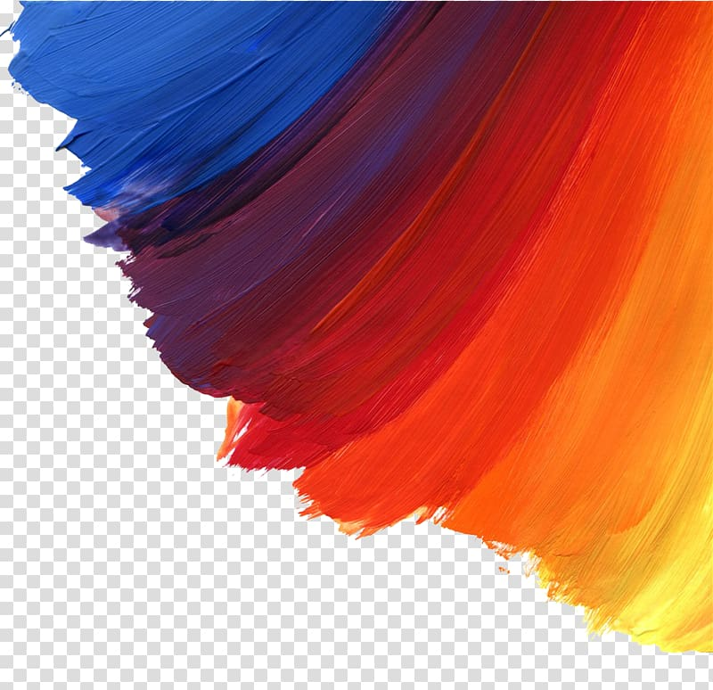 Watercolor Painting Brush Oil Paint, Color Paint Brushes, - Color Brush Background - HD Wallpaper