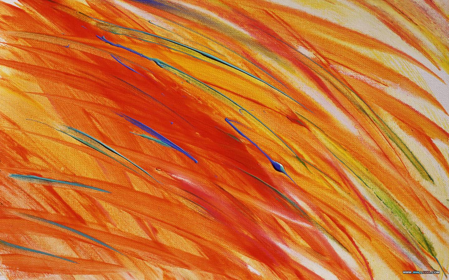 Painted Canvas Texture With Brush Strokes 1440*900 - Painting - HD Wallpaper
