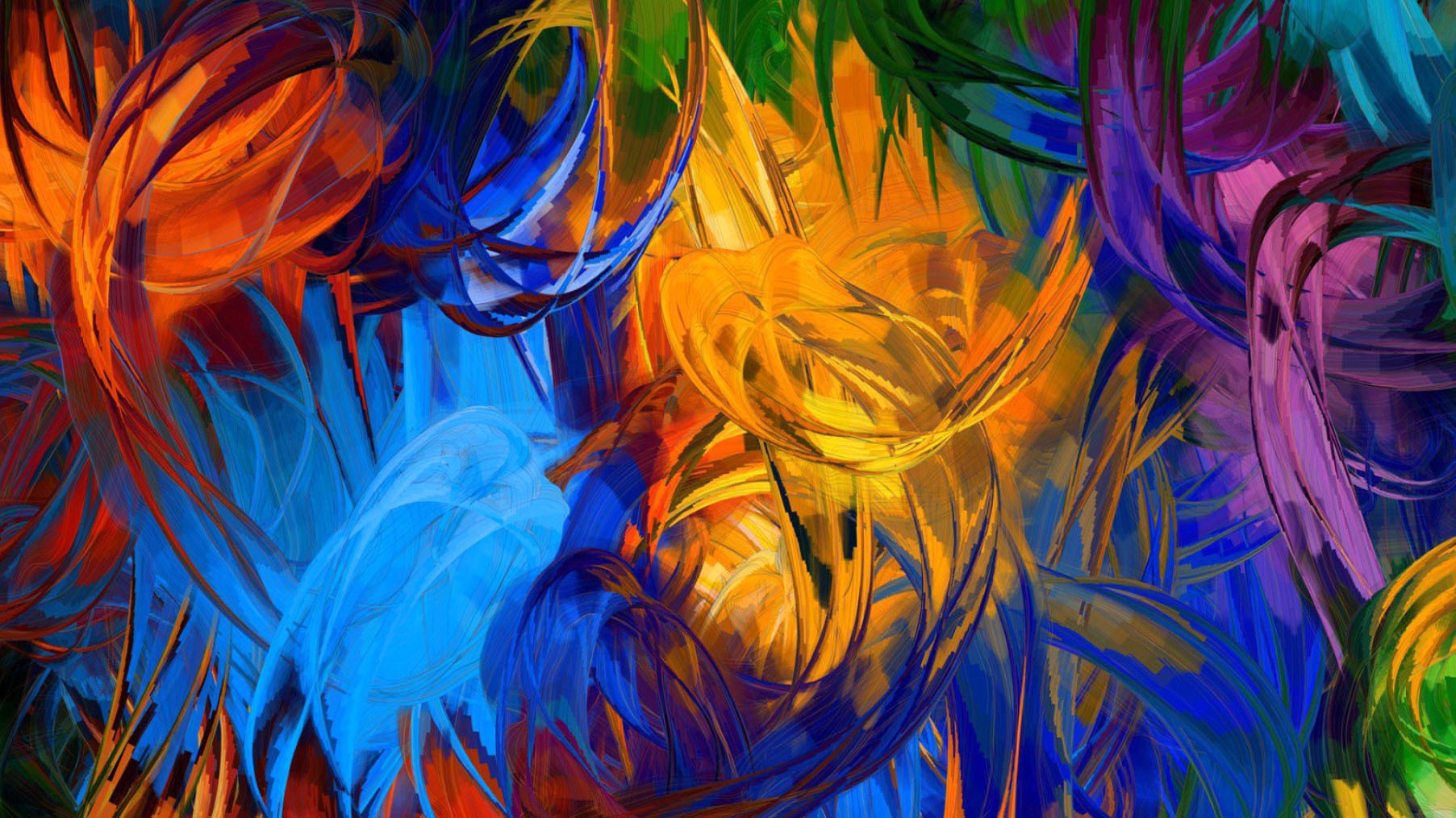 High Resolution Abstract Painting - HD Wallpaper
